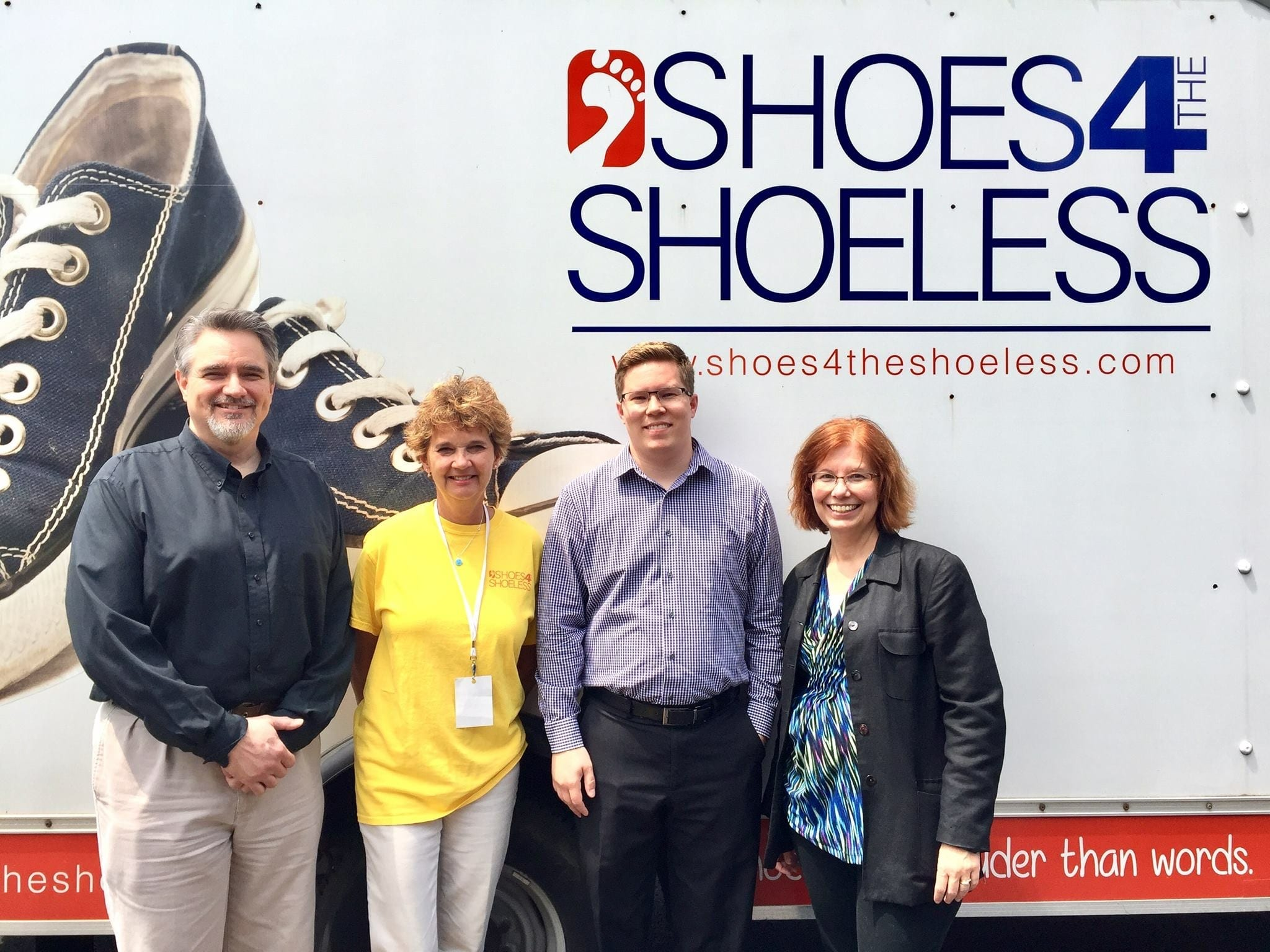LMS Consulting supporting Shoes 4 the Shoeless